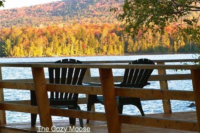 Foliage Lodging Lakefront Cabin Views
