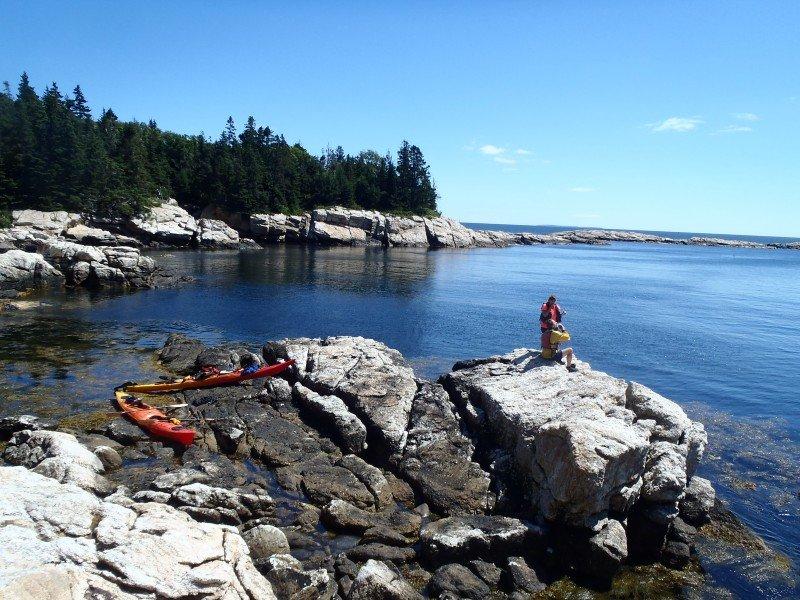 Maine Island Camping Trips