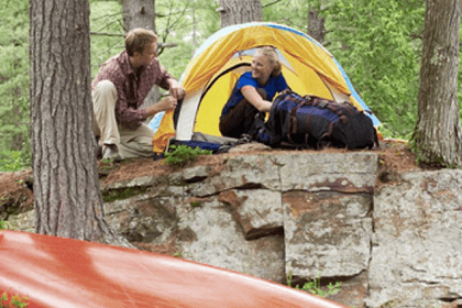 Camping & Nearby Accommodations