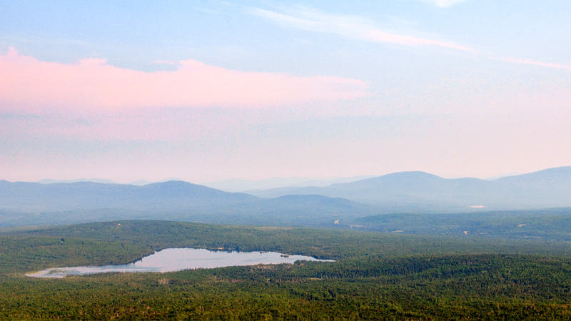 Take in the view across the Rangeley area.