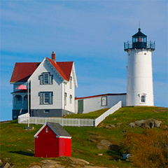 Cape Neddick Lighthouse is a sight to see.