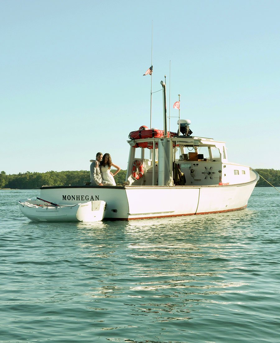 M/V Monhegan is a perfect addition to any wedding on the Maine Coast.