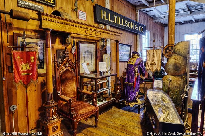Grist Mill Exhibit of Civic Organizations