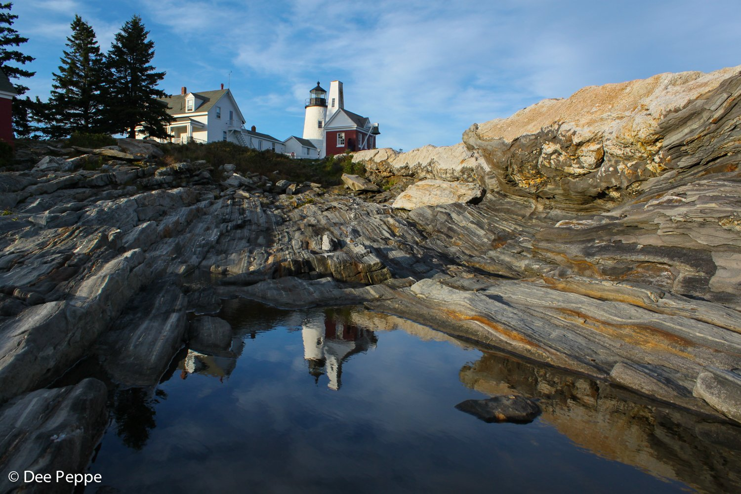 Reflection of Lighthouse