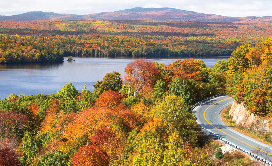 Fall Foliage Tours in the Kennebec Valley