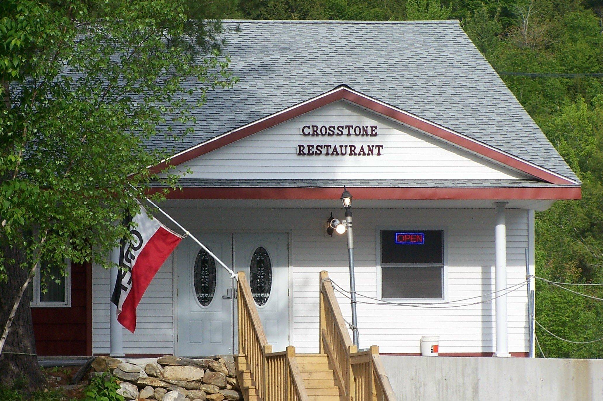 """Our great """"Crosstone Restaurant""""! Best food around!"""