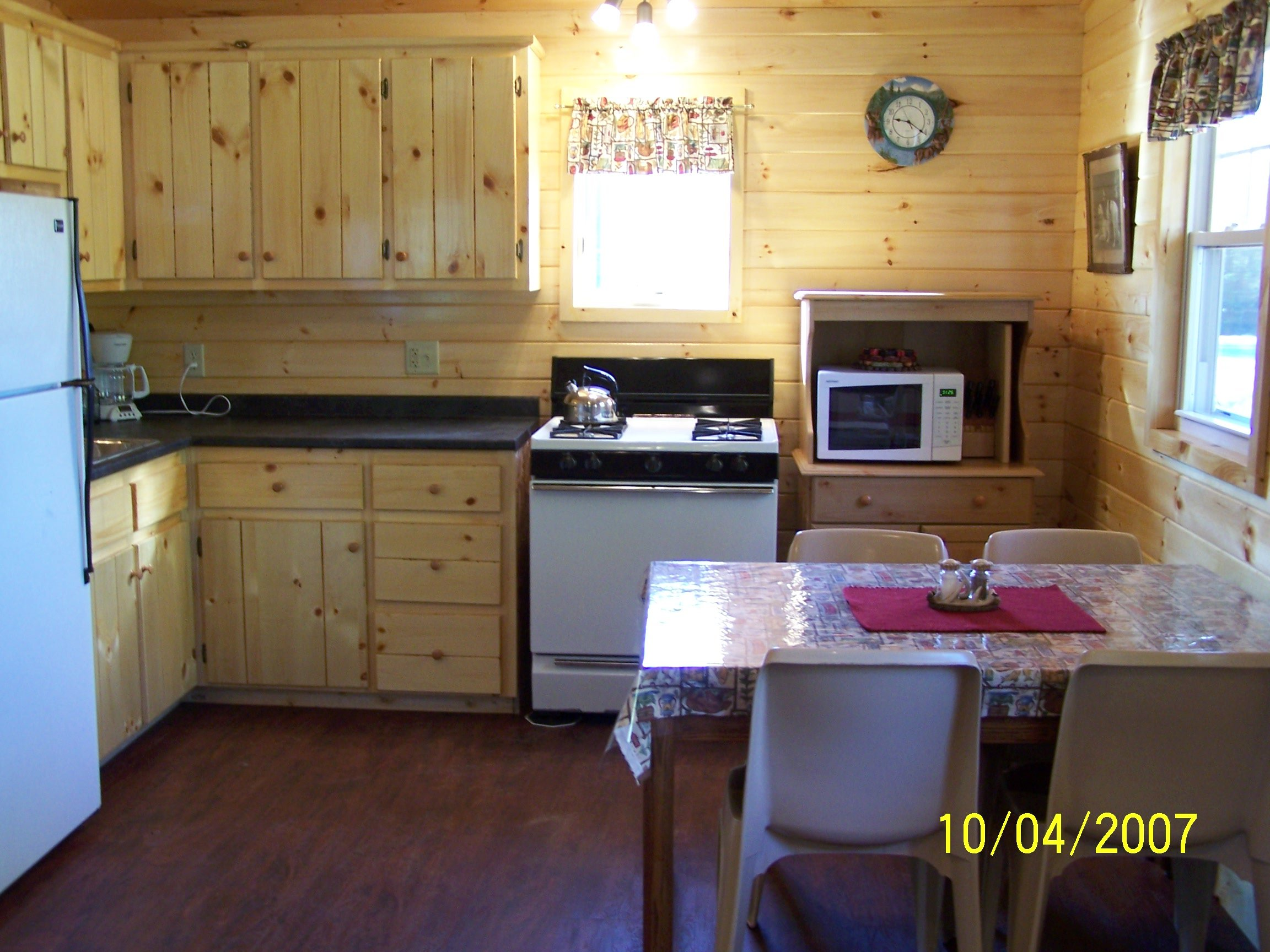 Guest house kitchen area