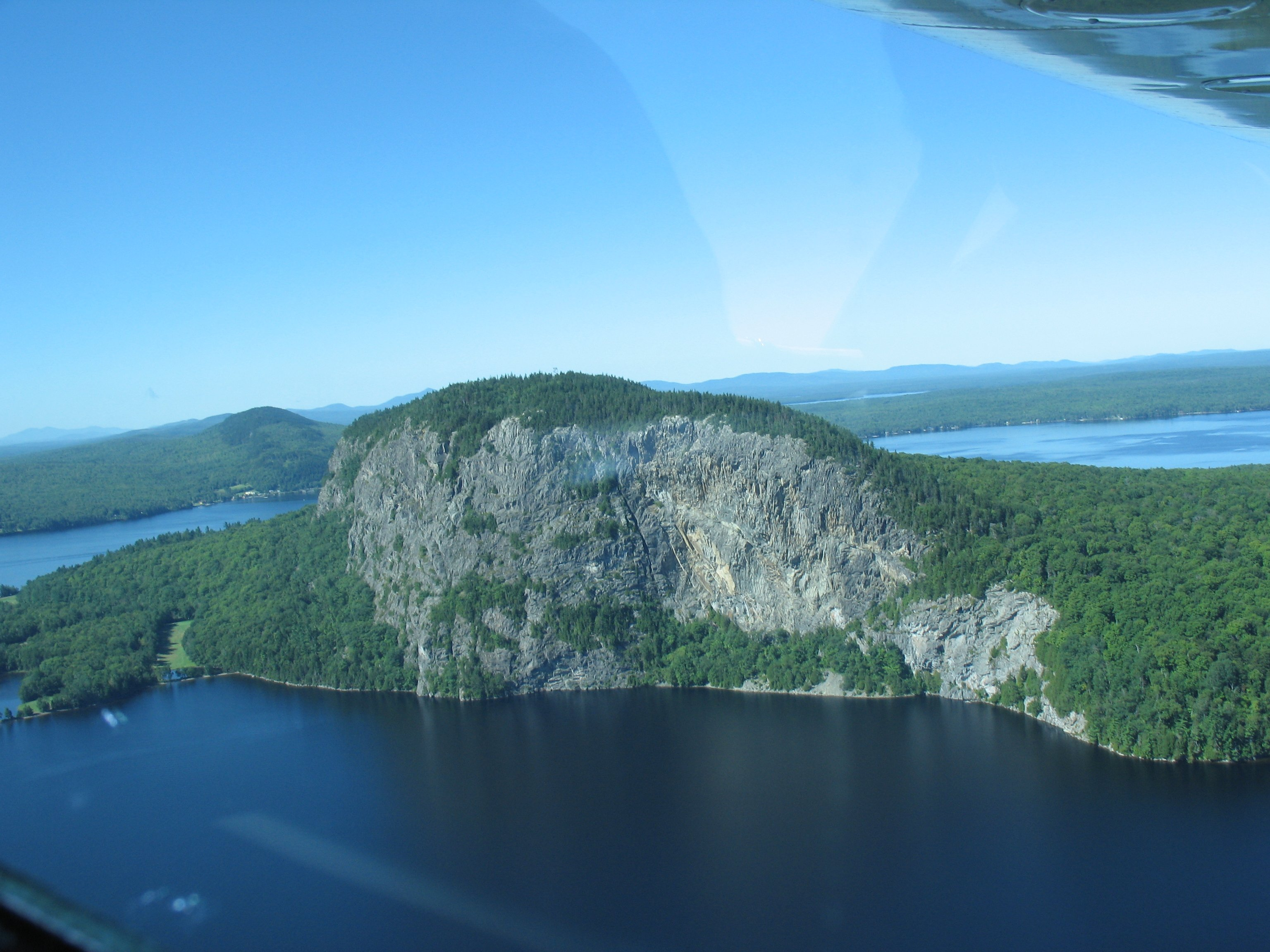 Best way to see Moosehead Lake is by sea plane
