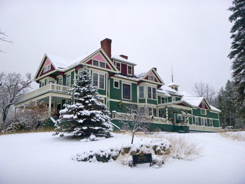 Historic lumber baron's mansion overlooking Moosehead Lake