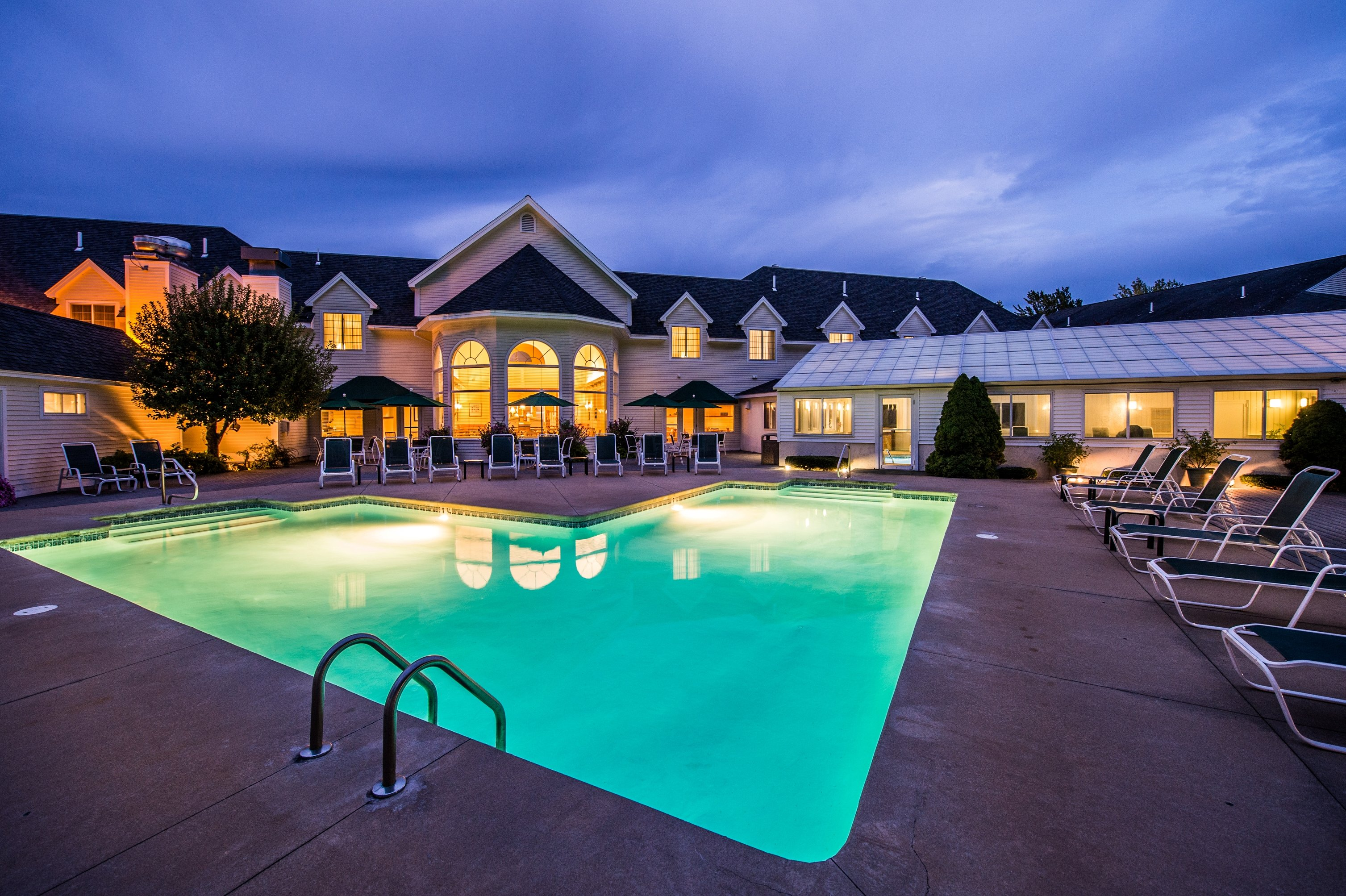 Enjoy a Dip in our Outdoor Pool