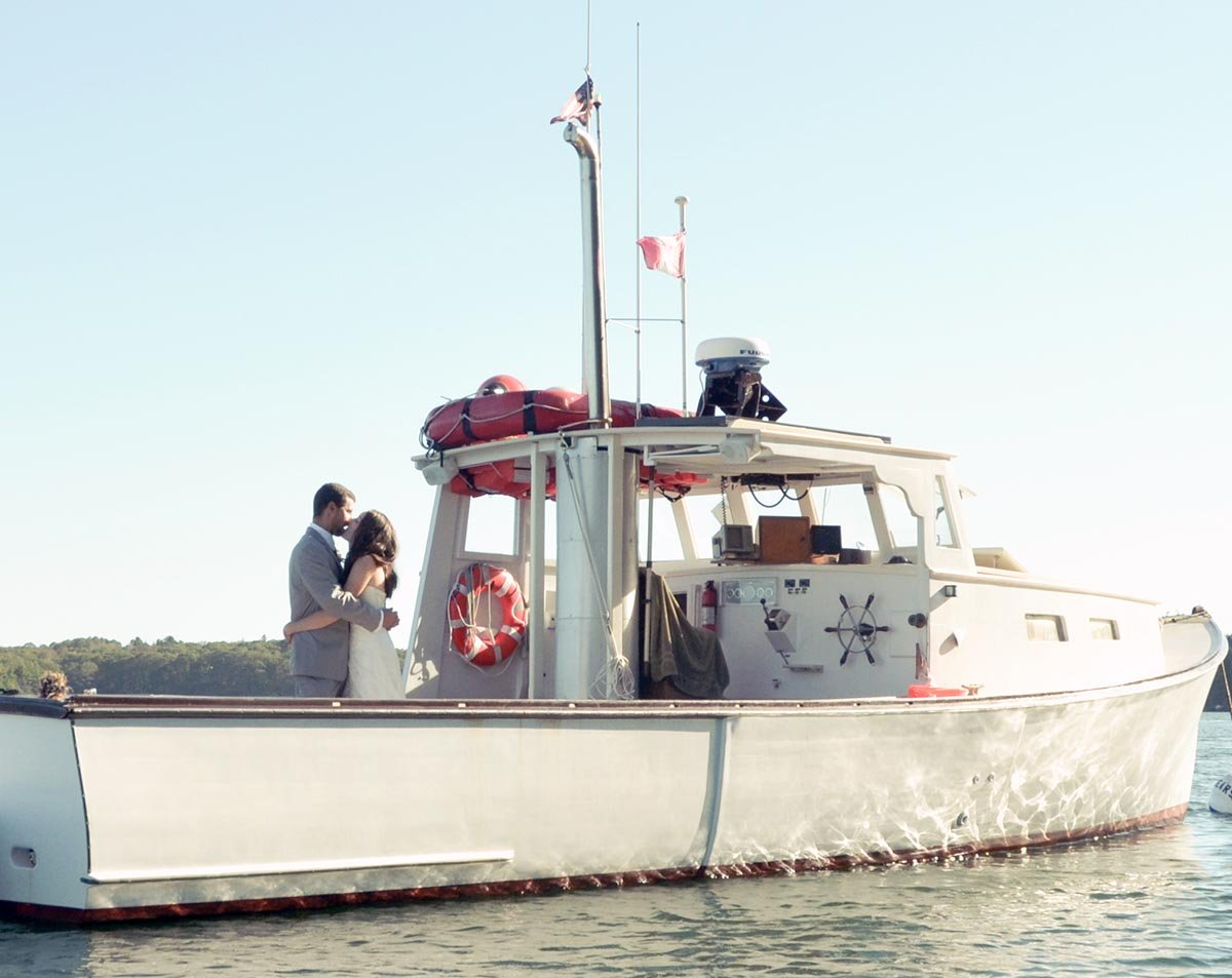 Let Casco Bay Custom Charters make your wedding a truly unique experience