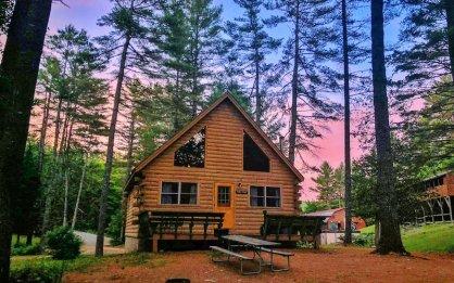 Northern Outdoors Adventure Resort Maine S Kennebec Valley