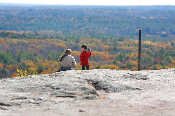 Views from Bradbury Mountain State Park