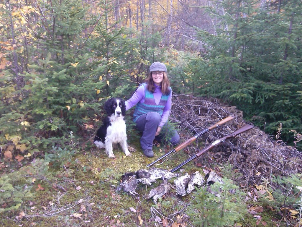 Bird Hunting in the North Maine Woods