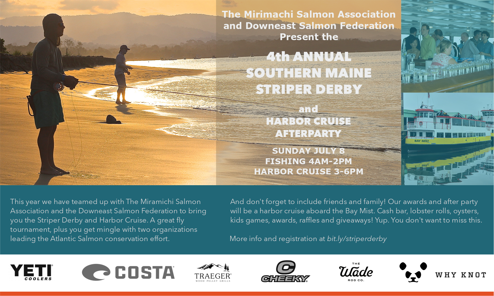 4th Annual Why Knot Fishing Southern Maine Striper Derby and