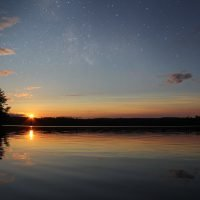 Beautiful Washington Pond