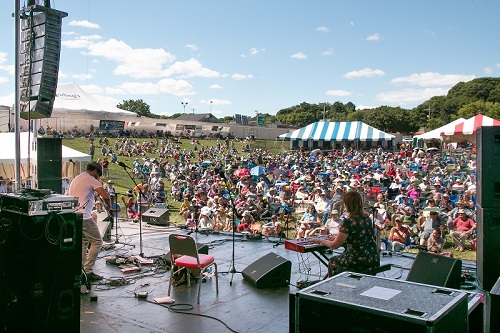 American Folk Fest on the Bangor Waterfront