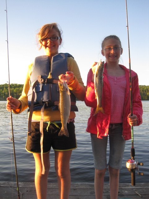 Take a child fishing and she'll be hooked for life!