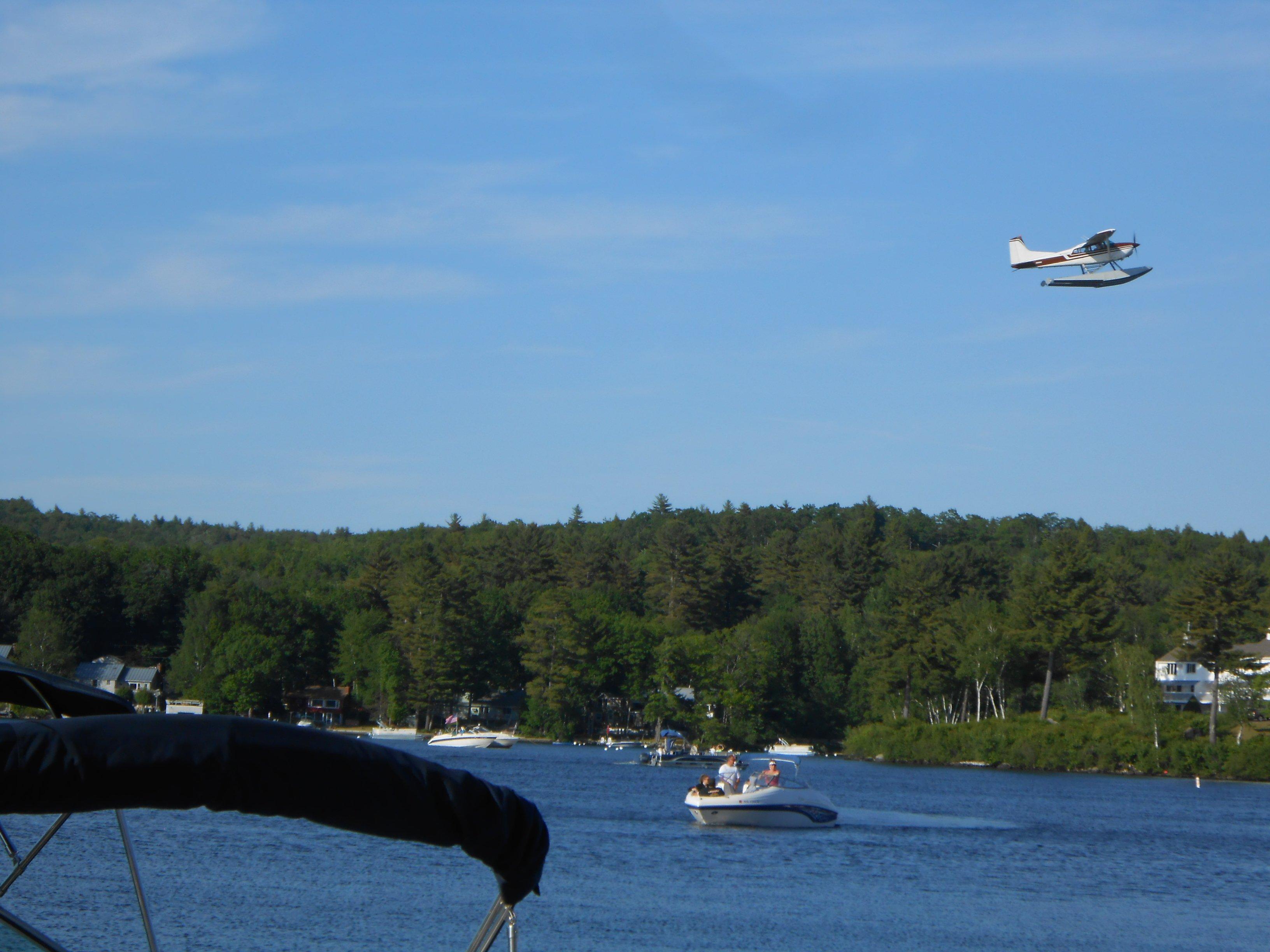 Seaplane rides