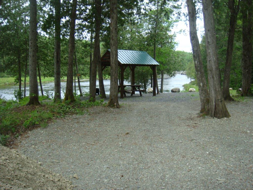 Located on the quiet shores of the Fish River near Fort Kent, Maine