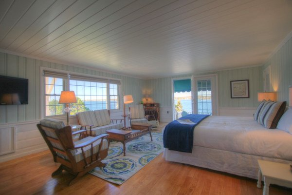 Captain's Quarters at Spruce Point Inn Resort, Maine