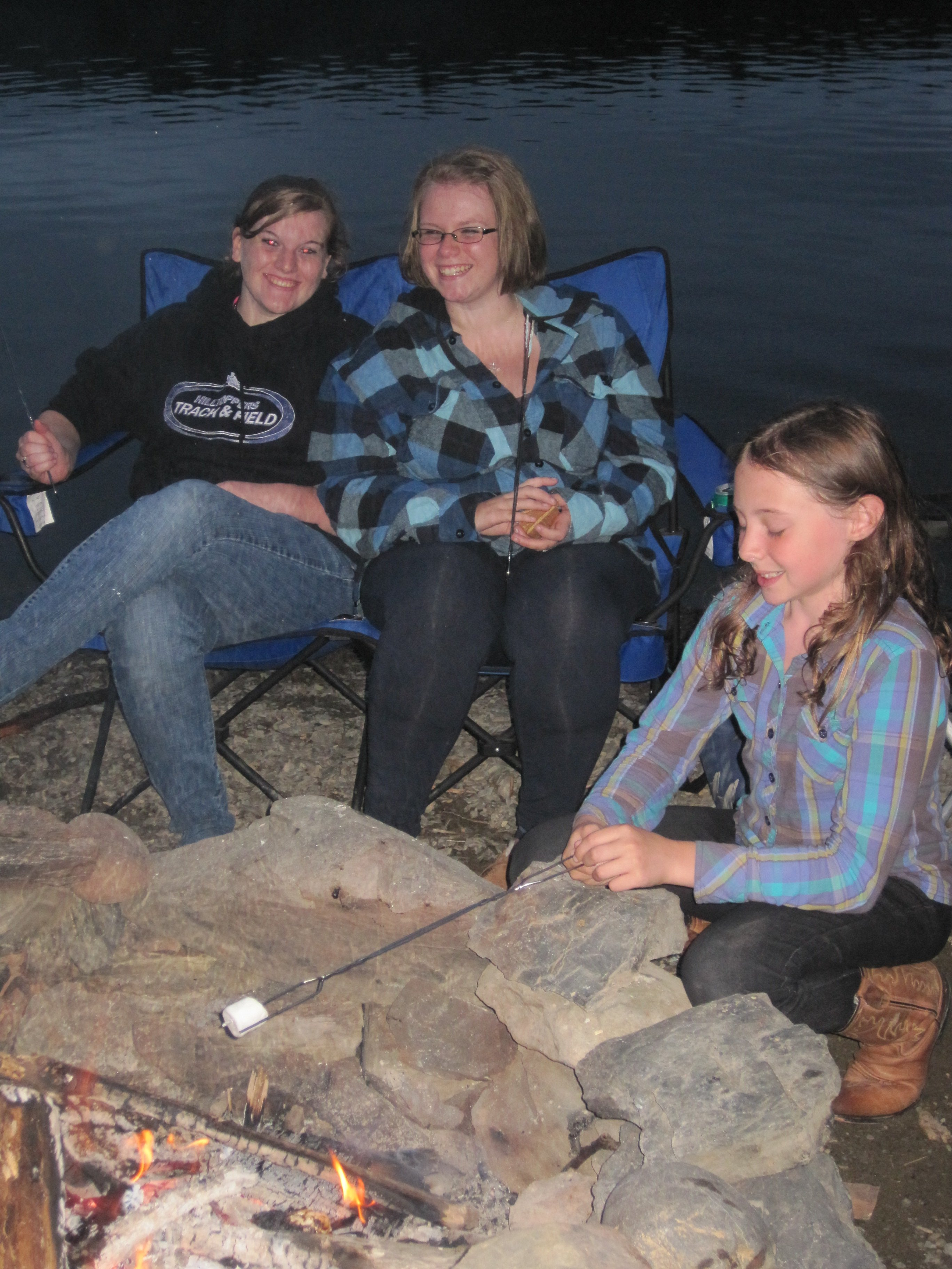 New friendships forged while toasting marshmallows at the camp fire.