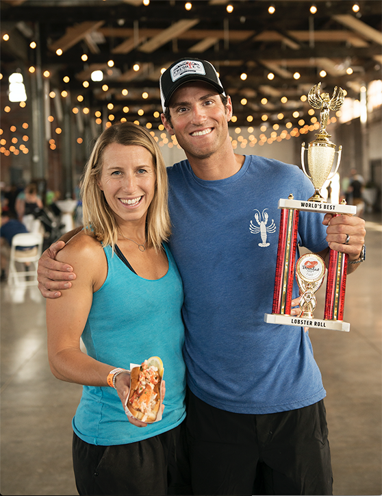 2017 Winner's Lorin and Ben Smaha of Freshie's Lobster Co. from Park City, Utah.