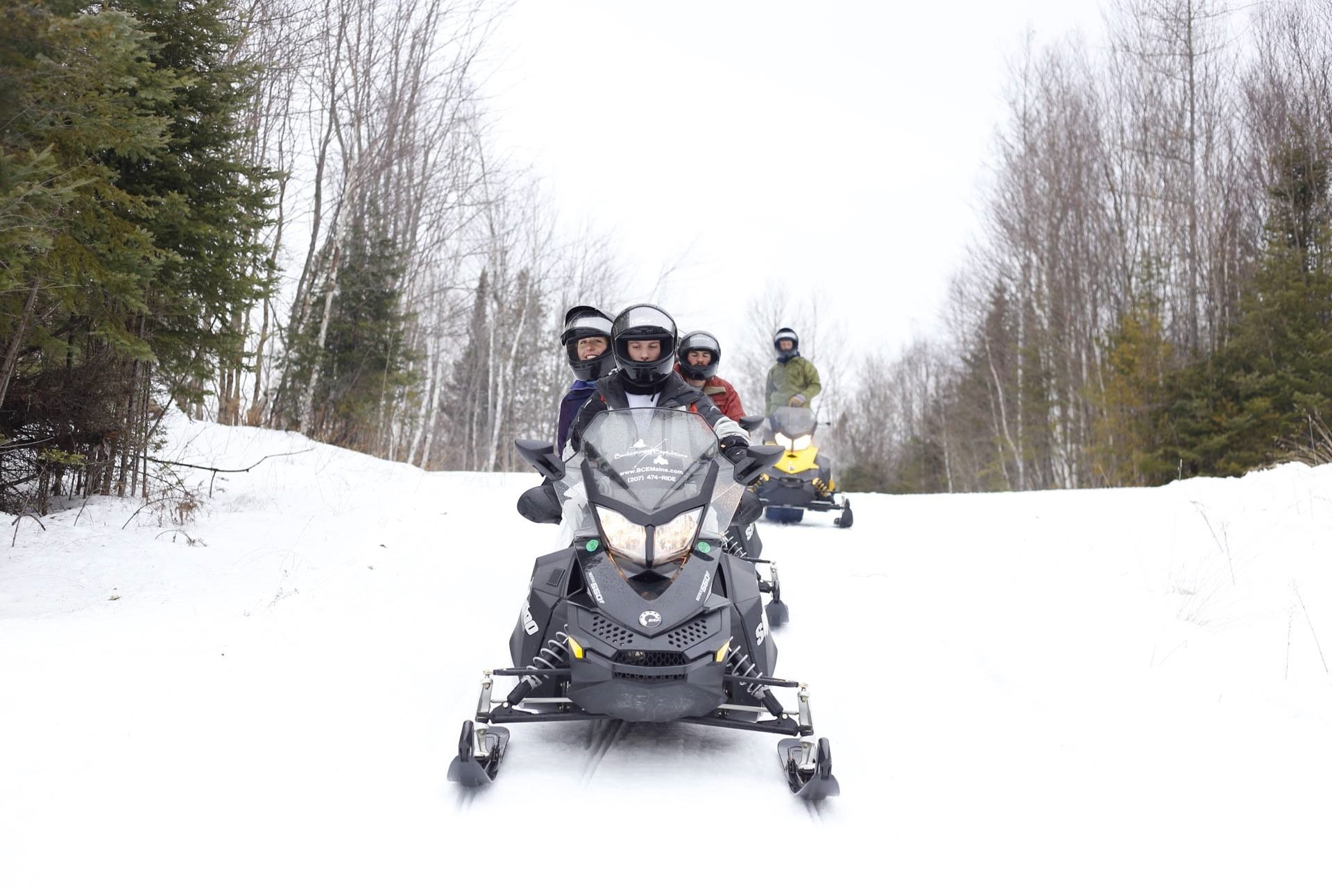 Maine Outdoor Sports Snowmobile Rentals & Tours