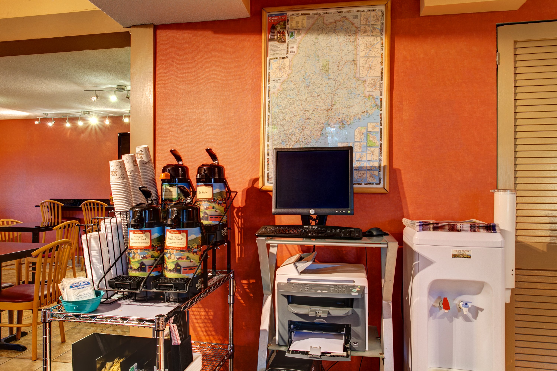 Coffee & Media Station