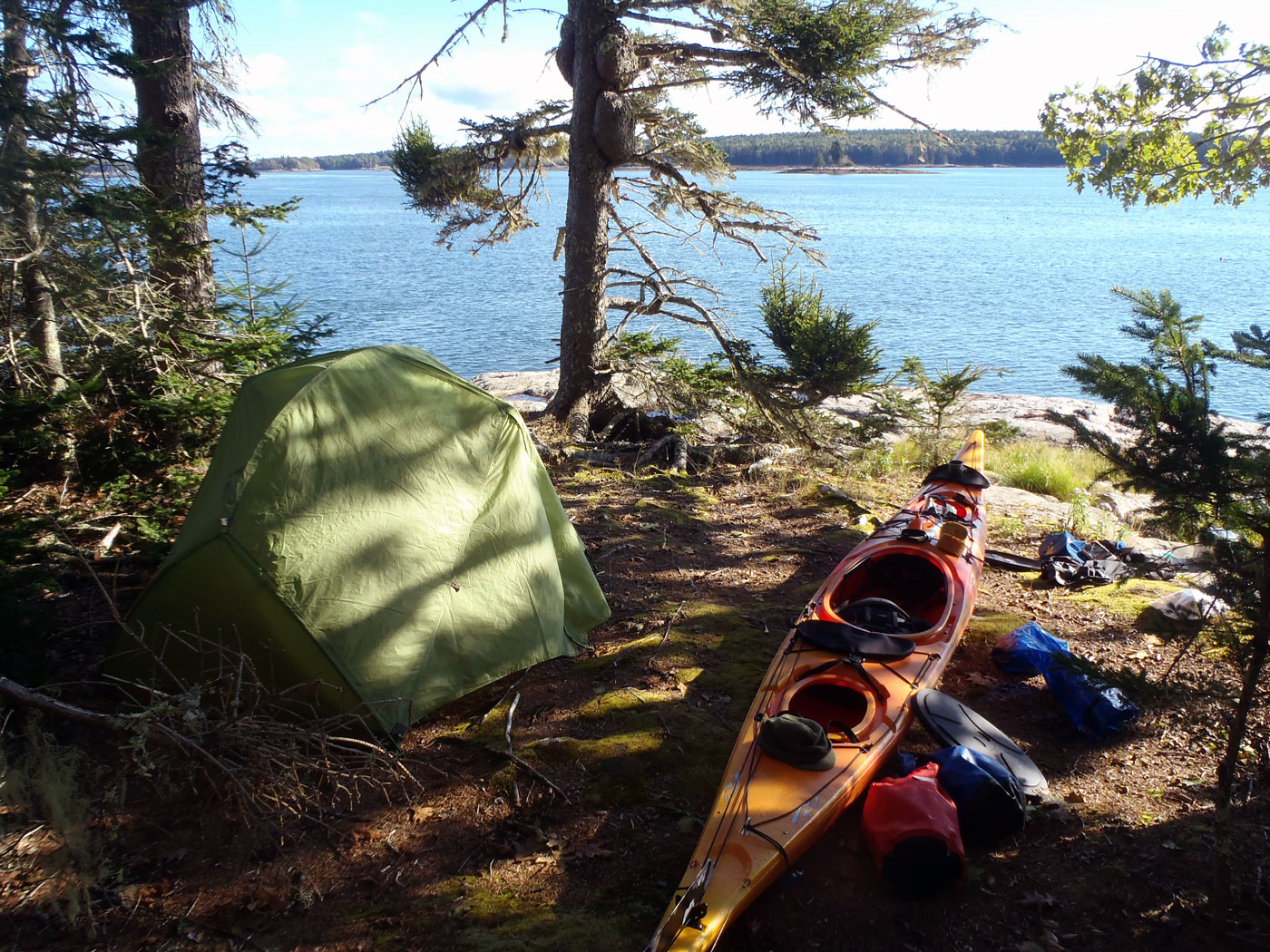 Maine Island Camping Trips