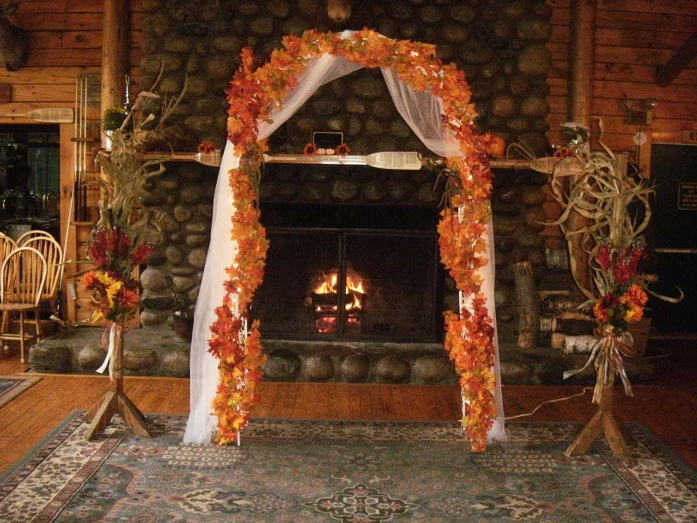 We help you decorate for your adventure wedding.