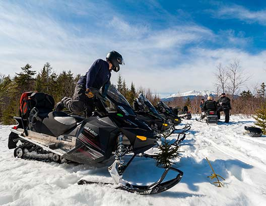 New England Outdoor Center Snowmobiling Resort