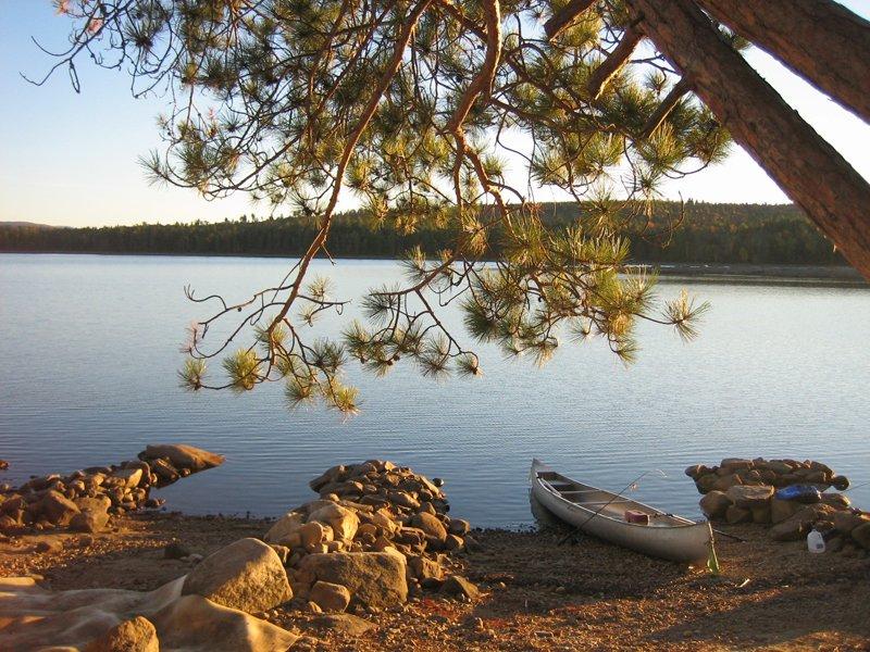 View of Little Richardson Lake in Rangeley.