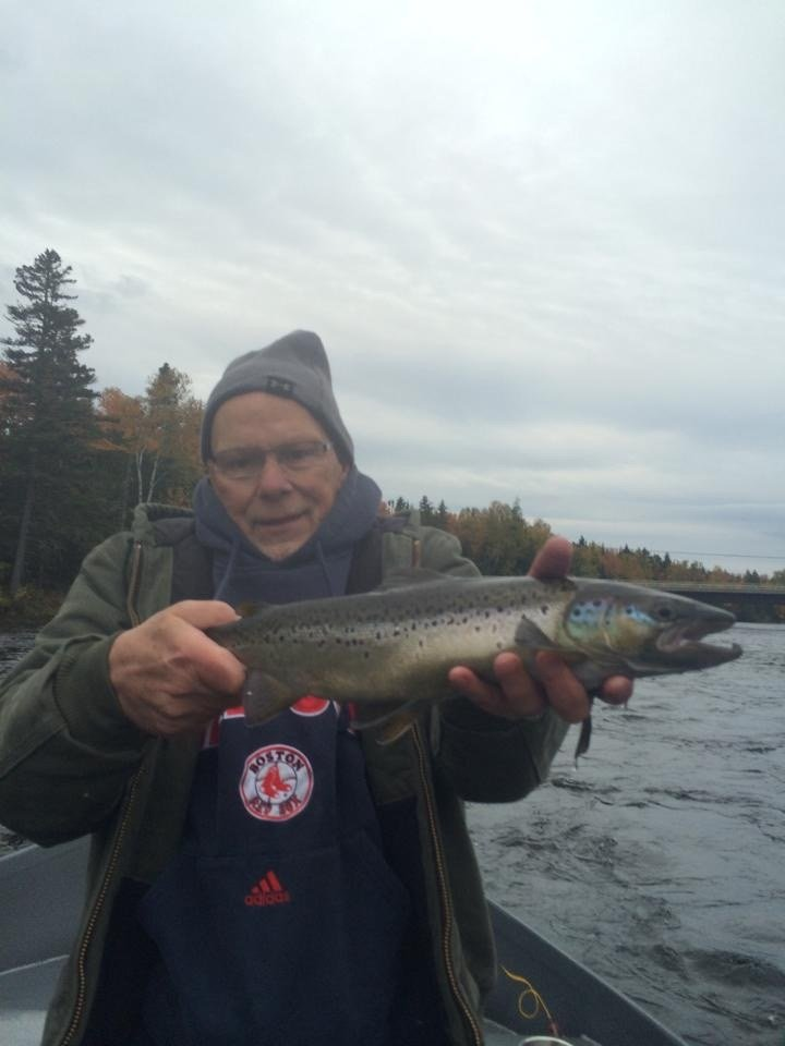 We fish even when it's cold...because our clients can't get enough!