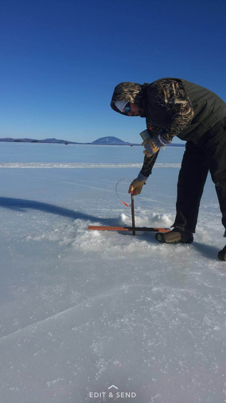 Beautiful day on the ice!