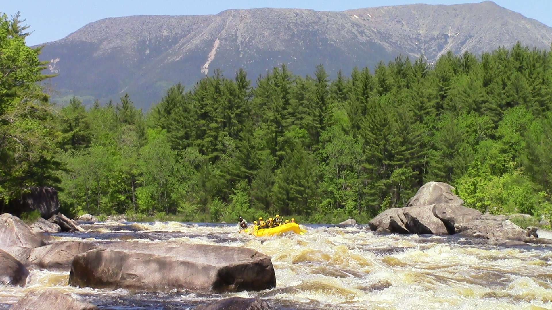 Scenery and Adventure on the Penobscot River