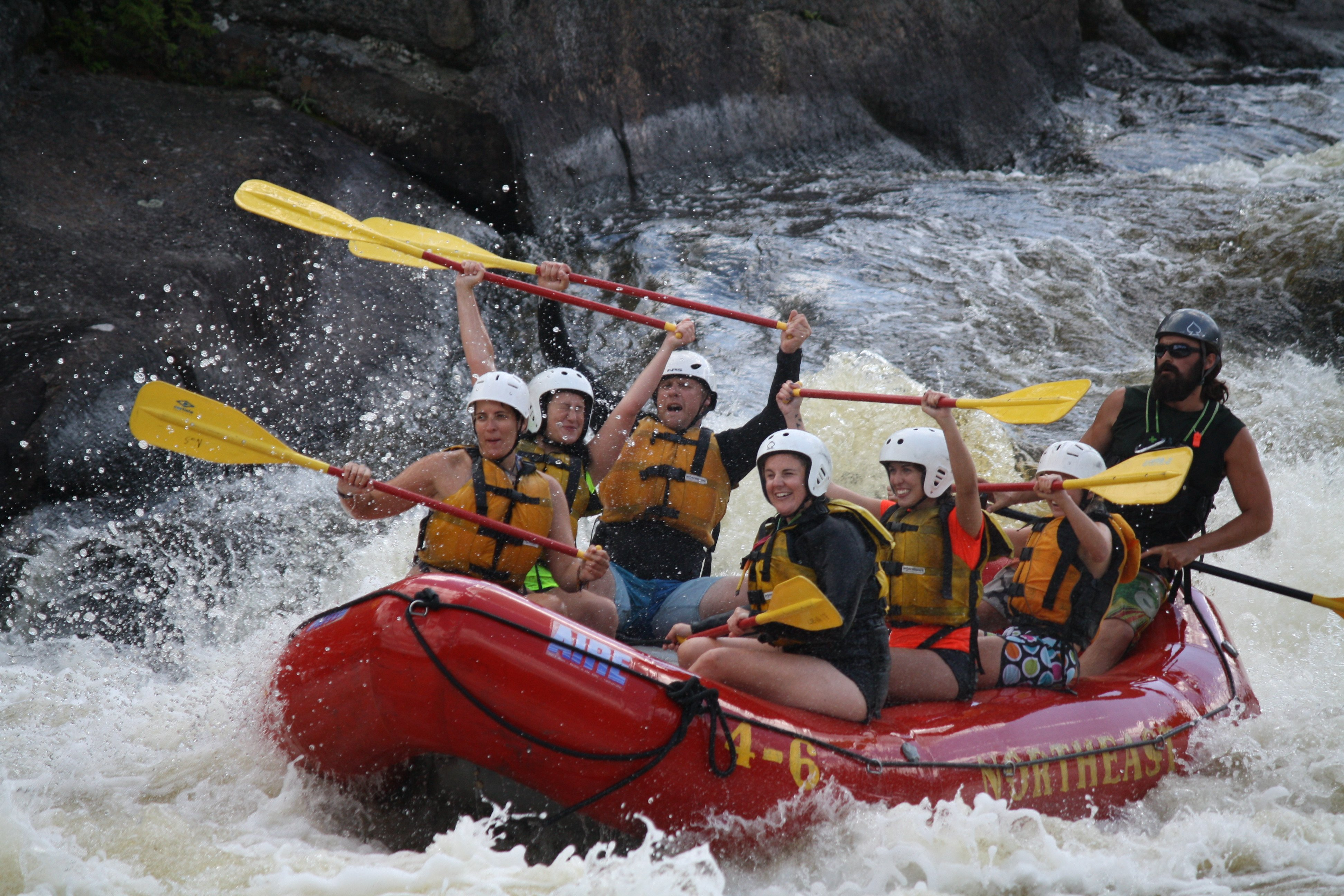 Whitewater Rafting on Maine's Penobscot River