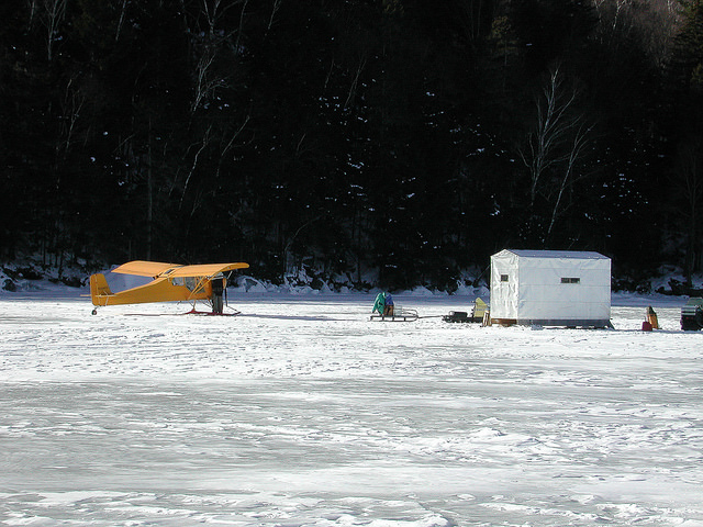 Ice Fishing in The Maine Highlands
