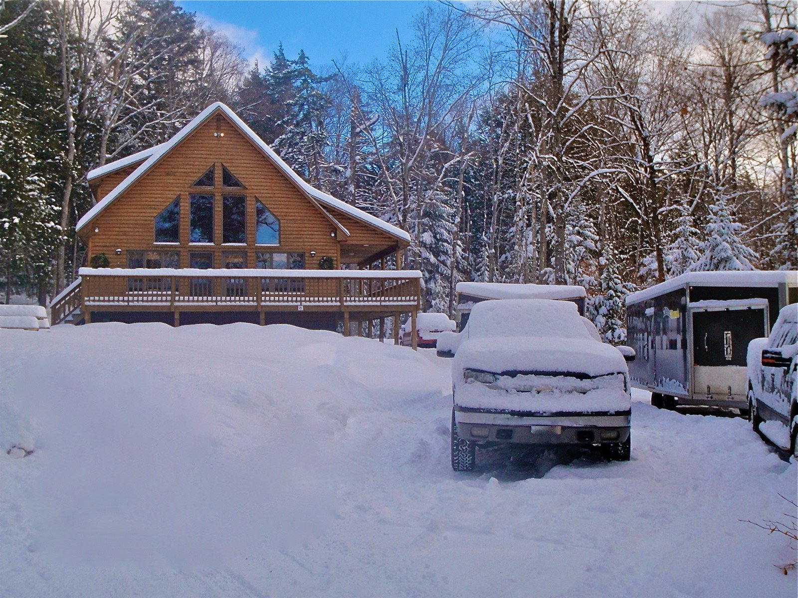 Snowmobiling Cabins