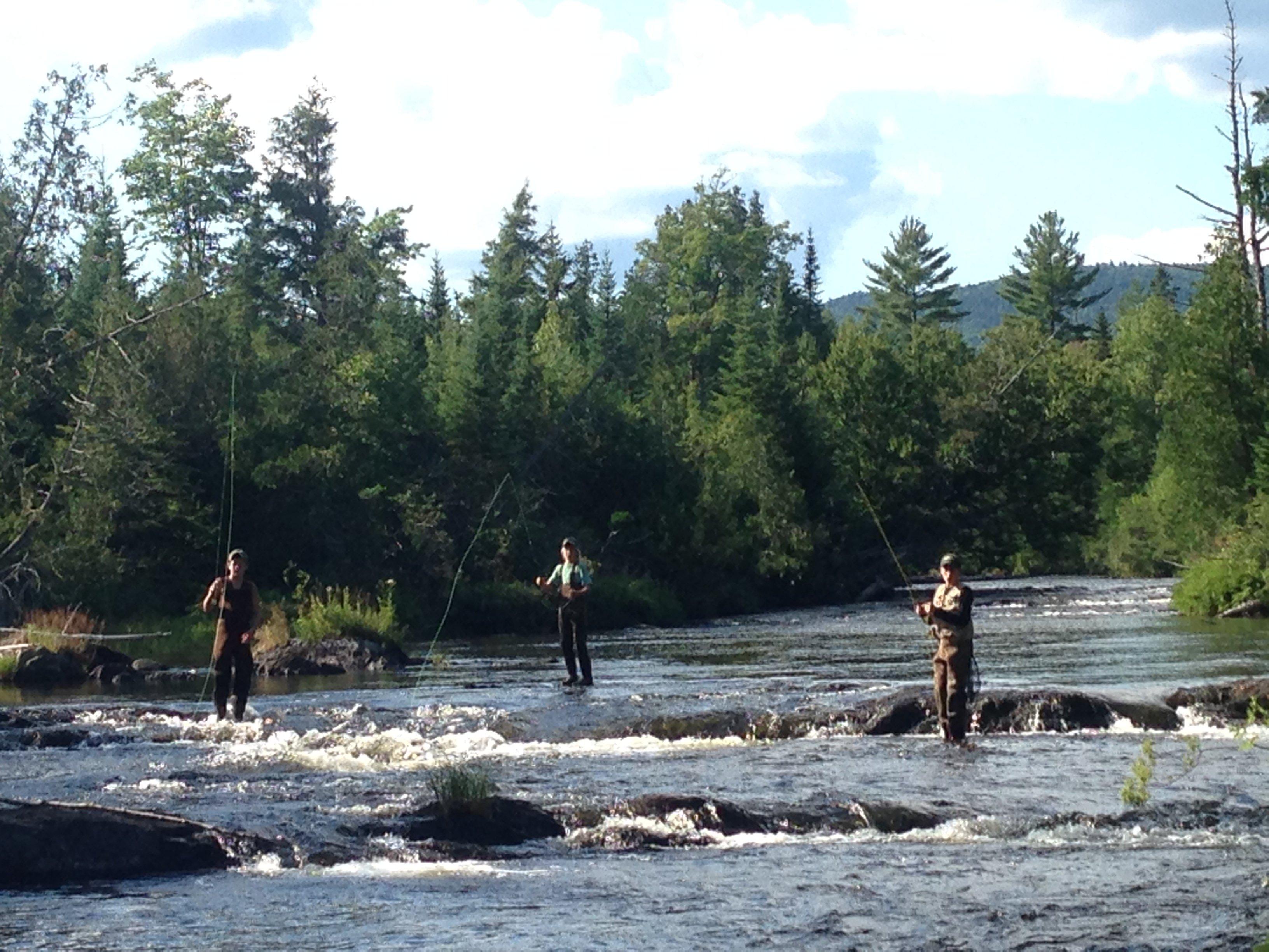 My boys/ friends~Fly fishing Munsungan Falls