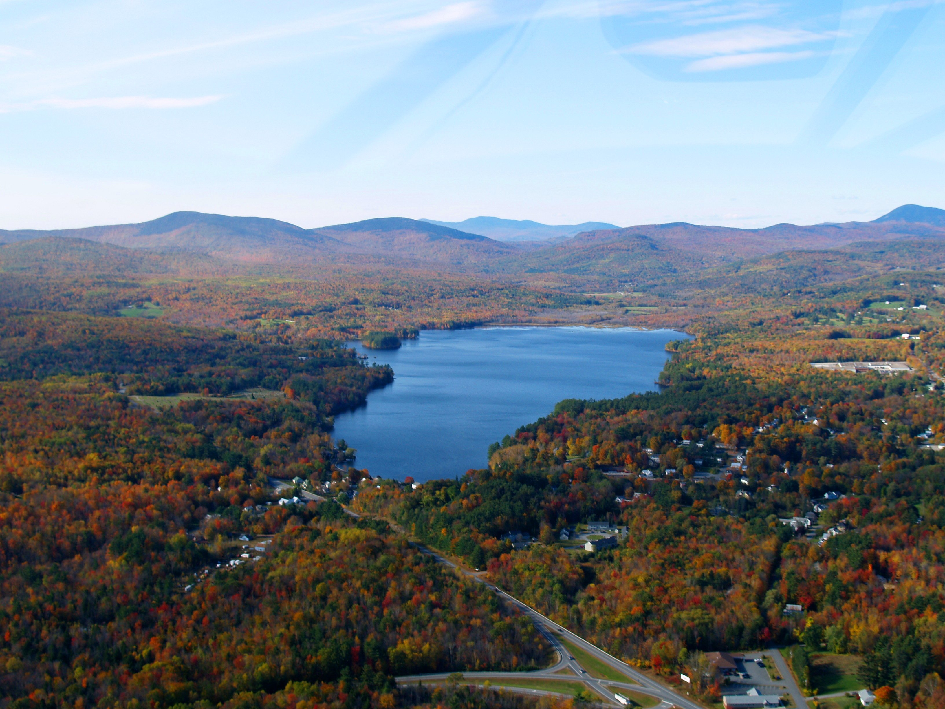 Wilson Lake - nestled in the foothills of Western Maine.