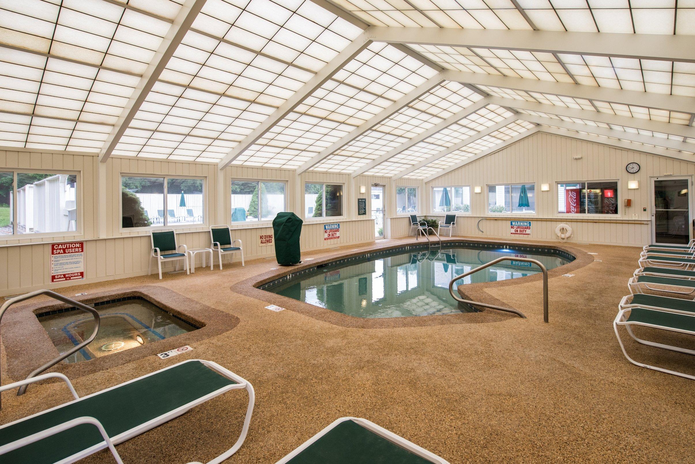 Enjoy a Dip in our Indoor Pool