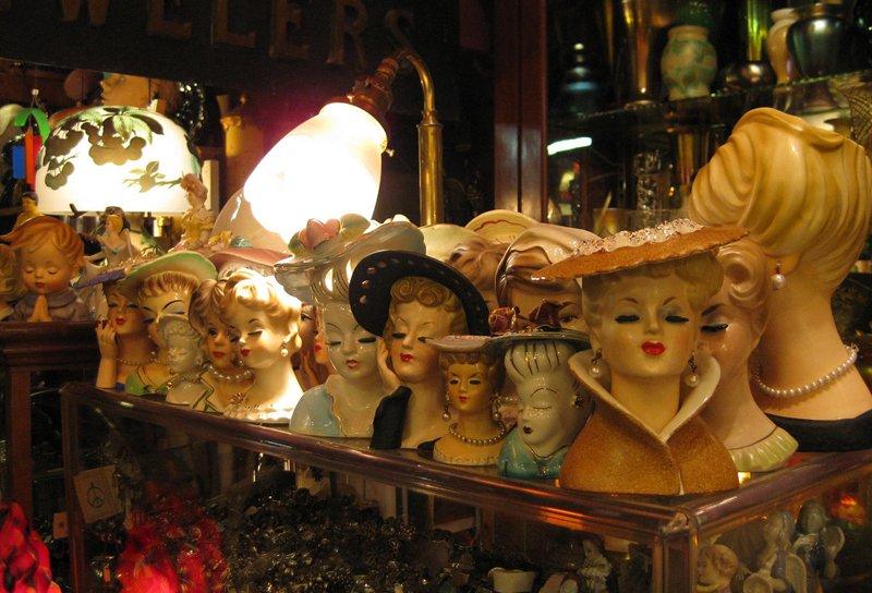 Orphan Annie's antique store in Auburn.