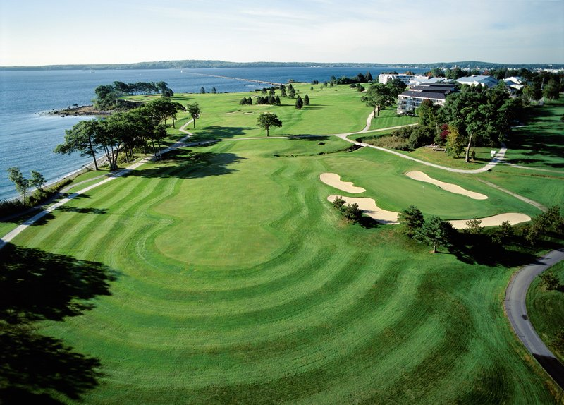 Samoset Resort Golf Course in Rockport.