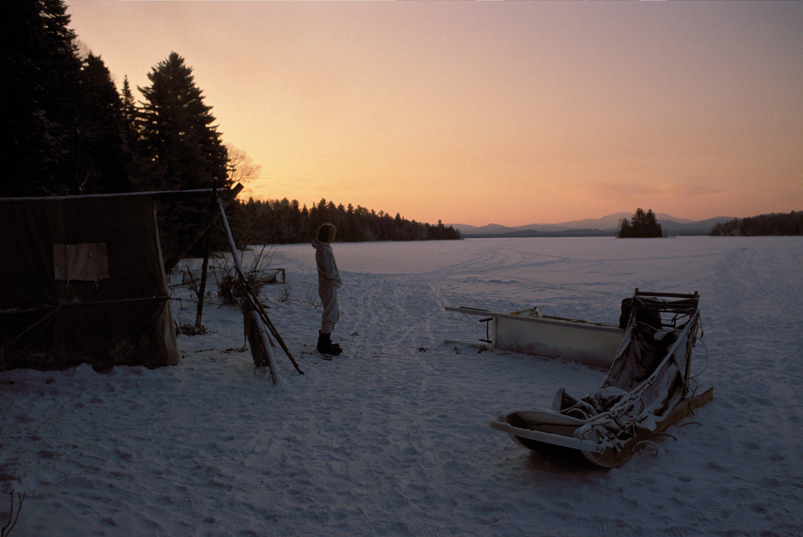 Camp on Umbagog Lake