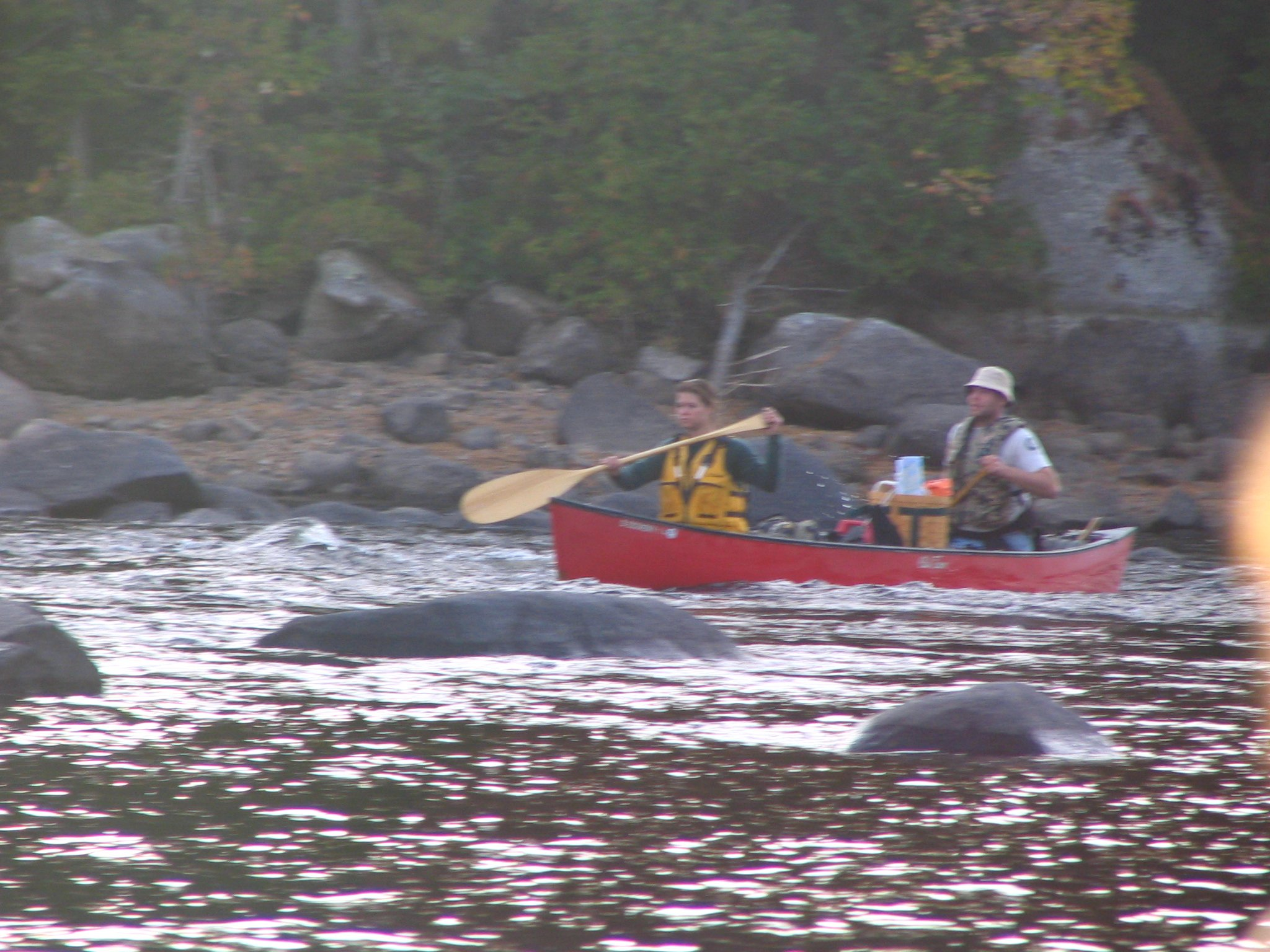 Paddling the West Branch of the Penobscot River