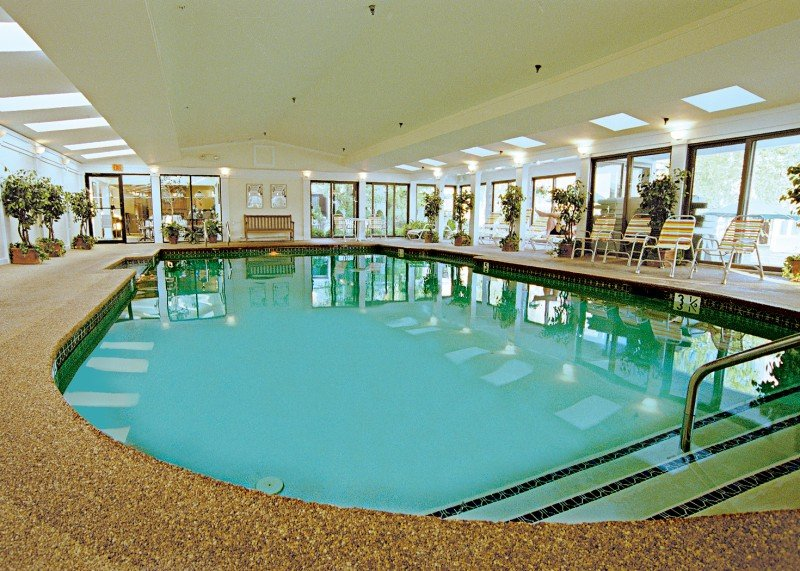 Indoor pool for Easter fun at Meadowmere Resort Ogunquit Maine