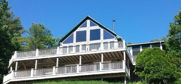 First Light Cottage - 3 BR/3BA plus sleeping loft - Waterfront Cottage.  Oh What A View!