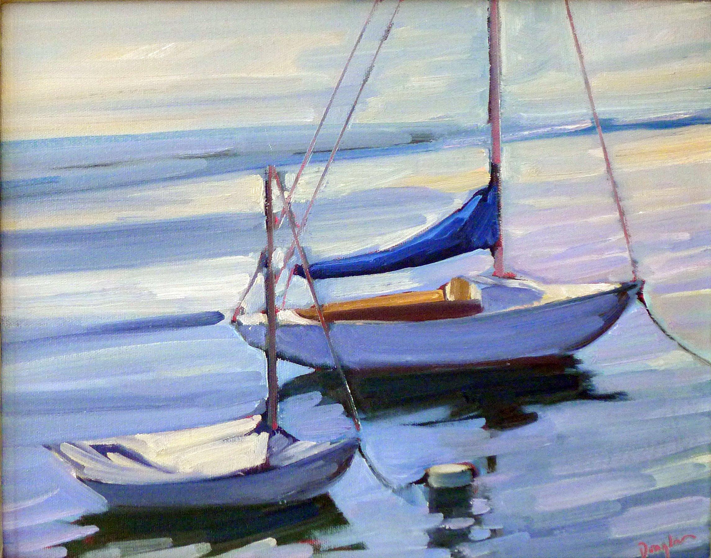 Flood Tide, oil on canvas
