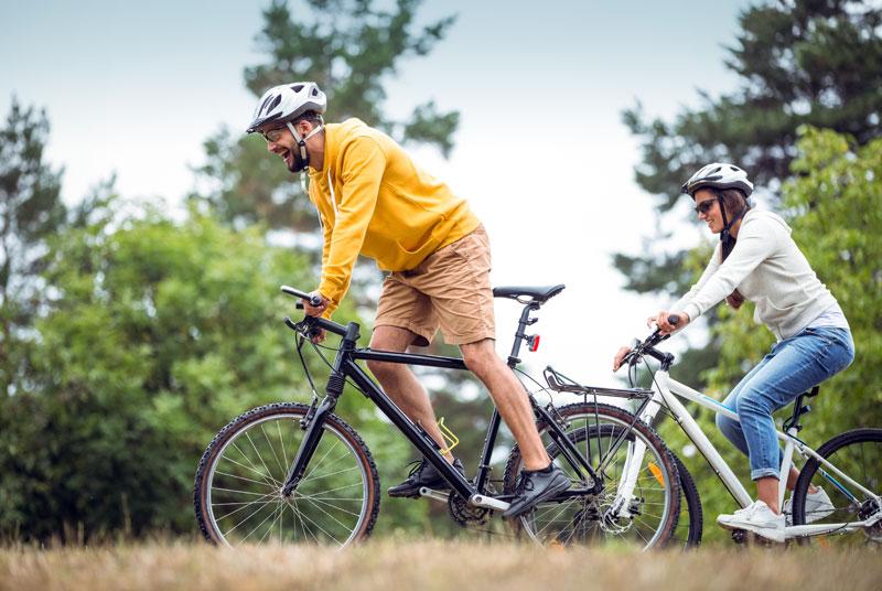 Biking on the Schoodic Peninsula